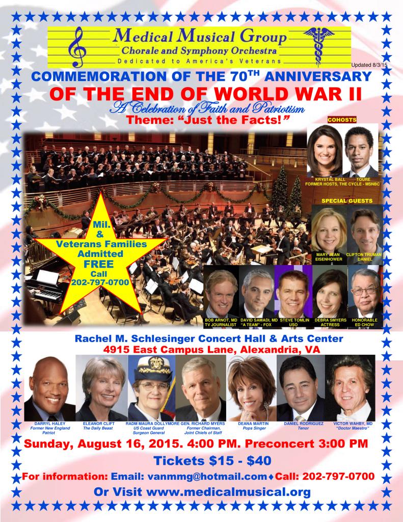 WWII Concert Flyer